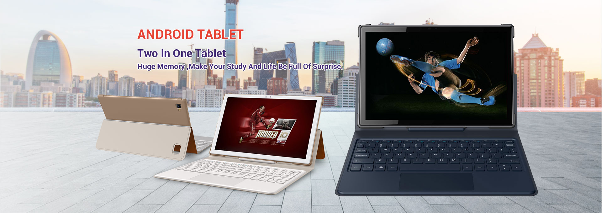 Android Tablet Two in One Tablet